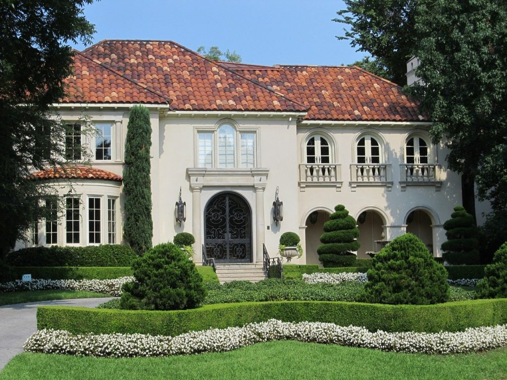 mansion, house, home